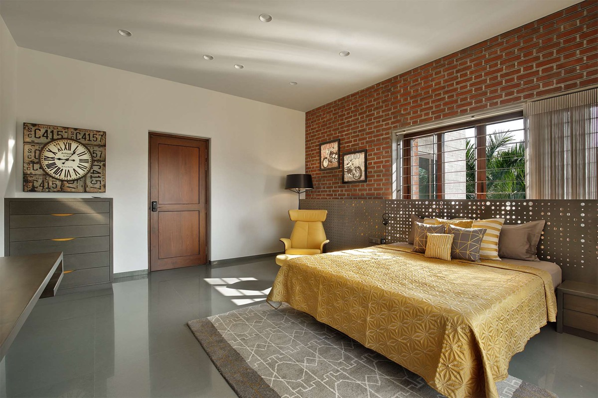 A Colour Rich Indian Home With Concrete Architecture And Interiors images 16