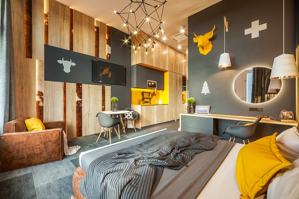 Designing City Themed Bedrooms: Inspiration From 3 Hotel Suites images 15