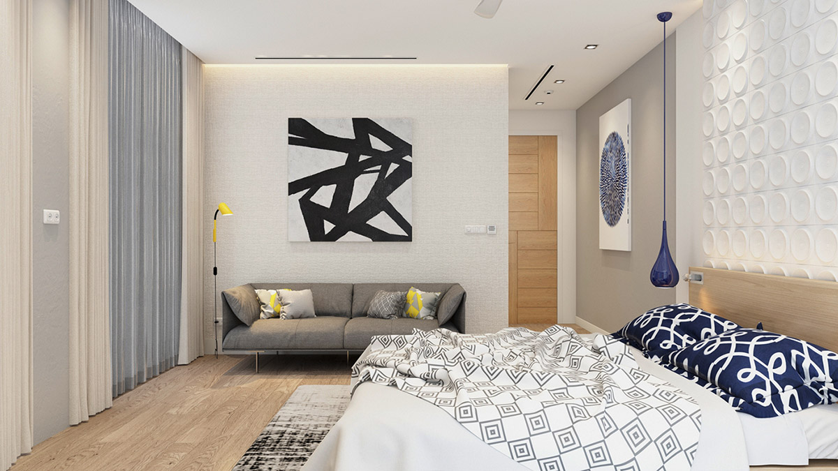 4 Bright & Cheerful Interiors That Use White & Wood To Good Effect images 32