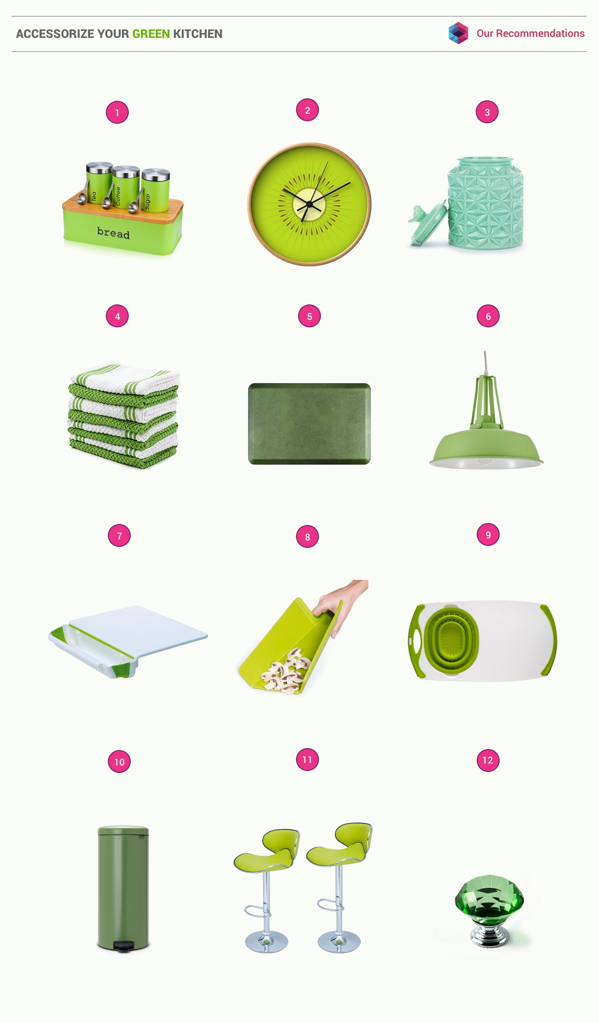 33 Gorgeous Green Kitchens And Ways To Accessorize Them images 30
