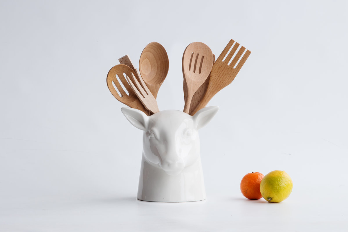 Product Of The Week: Cute Stag Vase/Utensil Holder