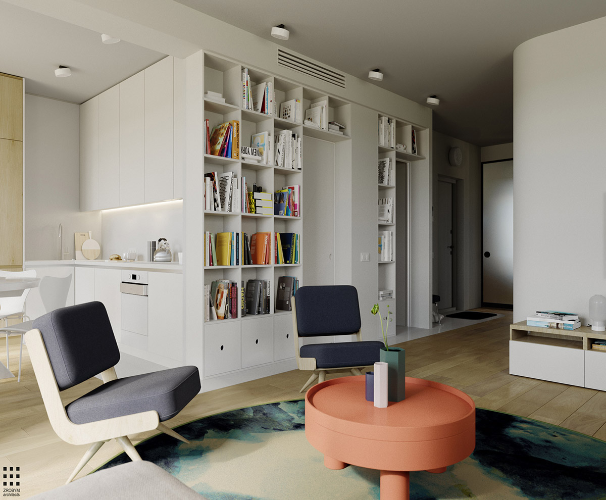 4 Bright & Cheerful Interiors That Use White & Wood To Good Effect images 9