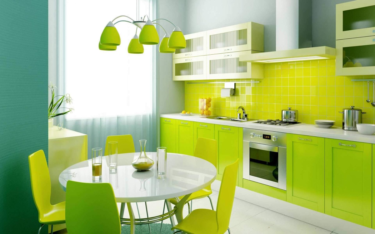 33 Gorgeous Green Kitchens And Ways To Accessorize Them images 7