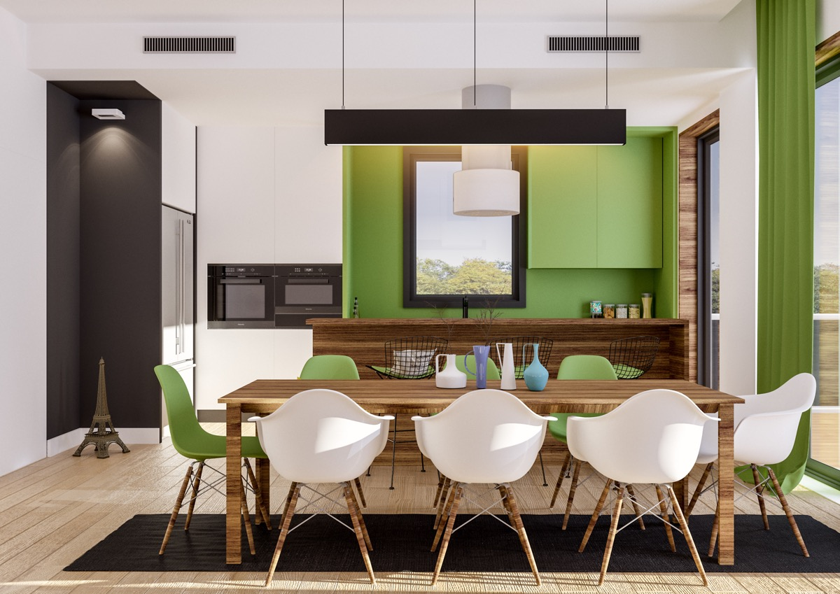 33 Gorgeous Green Kitchens And Ways To Accessorize Them images 17