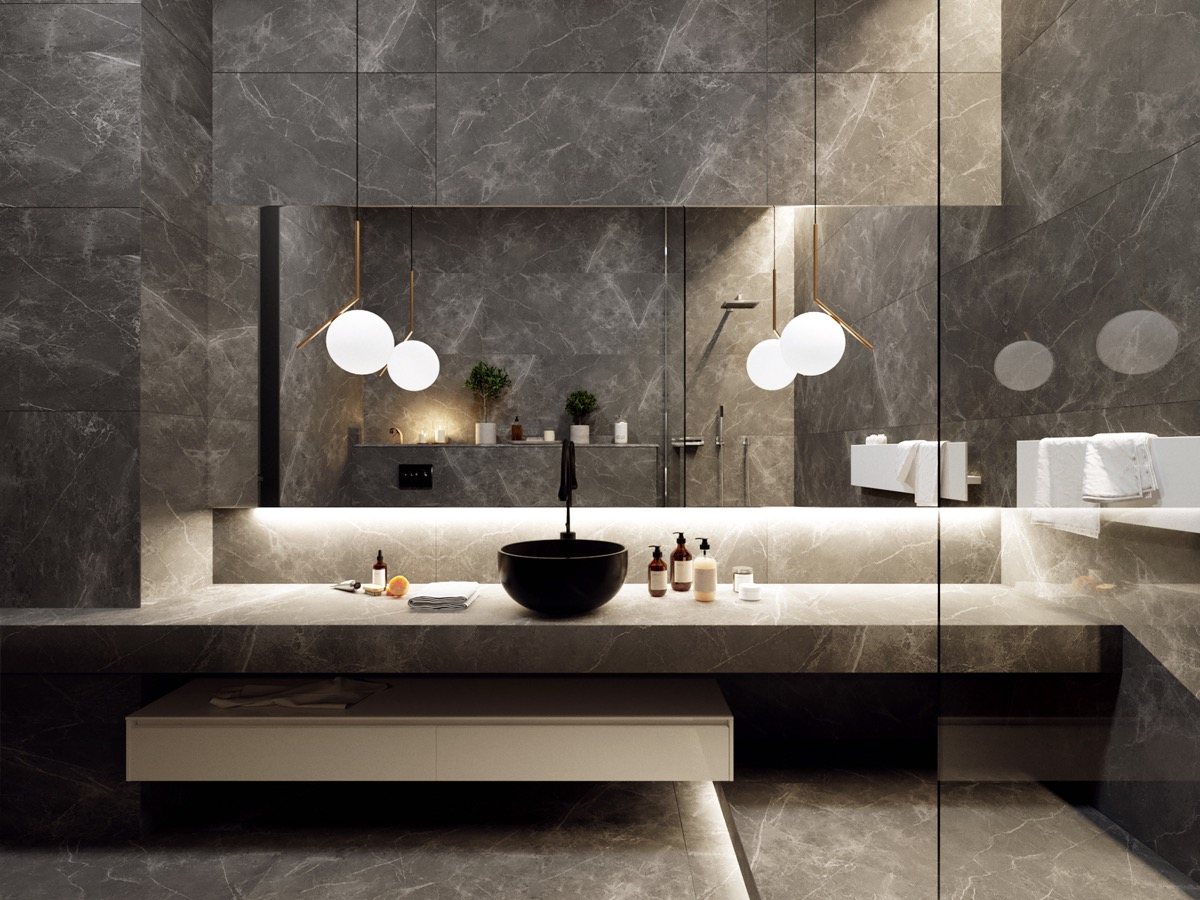 50 Luxury Bathrooms And Tips You Can Copy From Them images 30