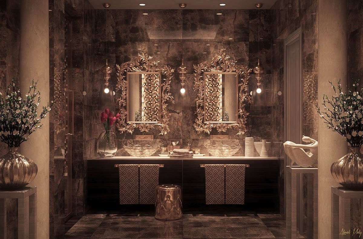 50 Luxury Bathrooms And Tips You Can Copy From Them images 36