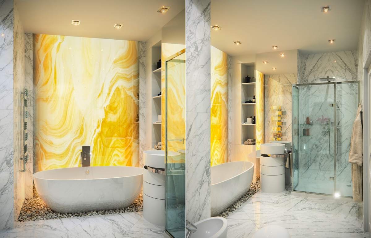 50 Luxury Bathrooms And Tips You Can Copy From Them images 43