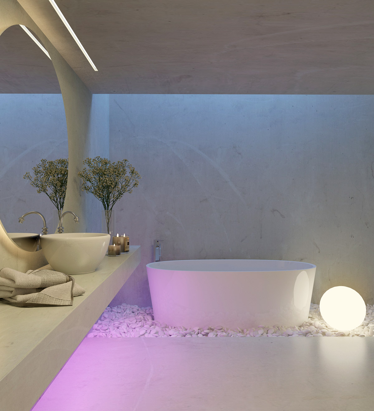 50 Luxury Bathrooms And Tips You Can Copy From Them images 15