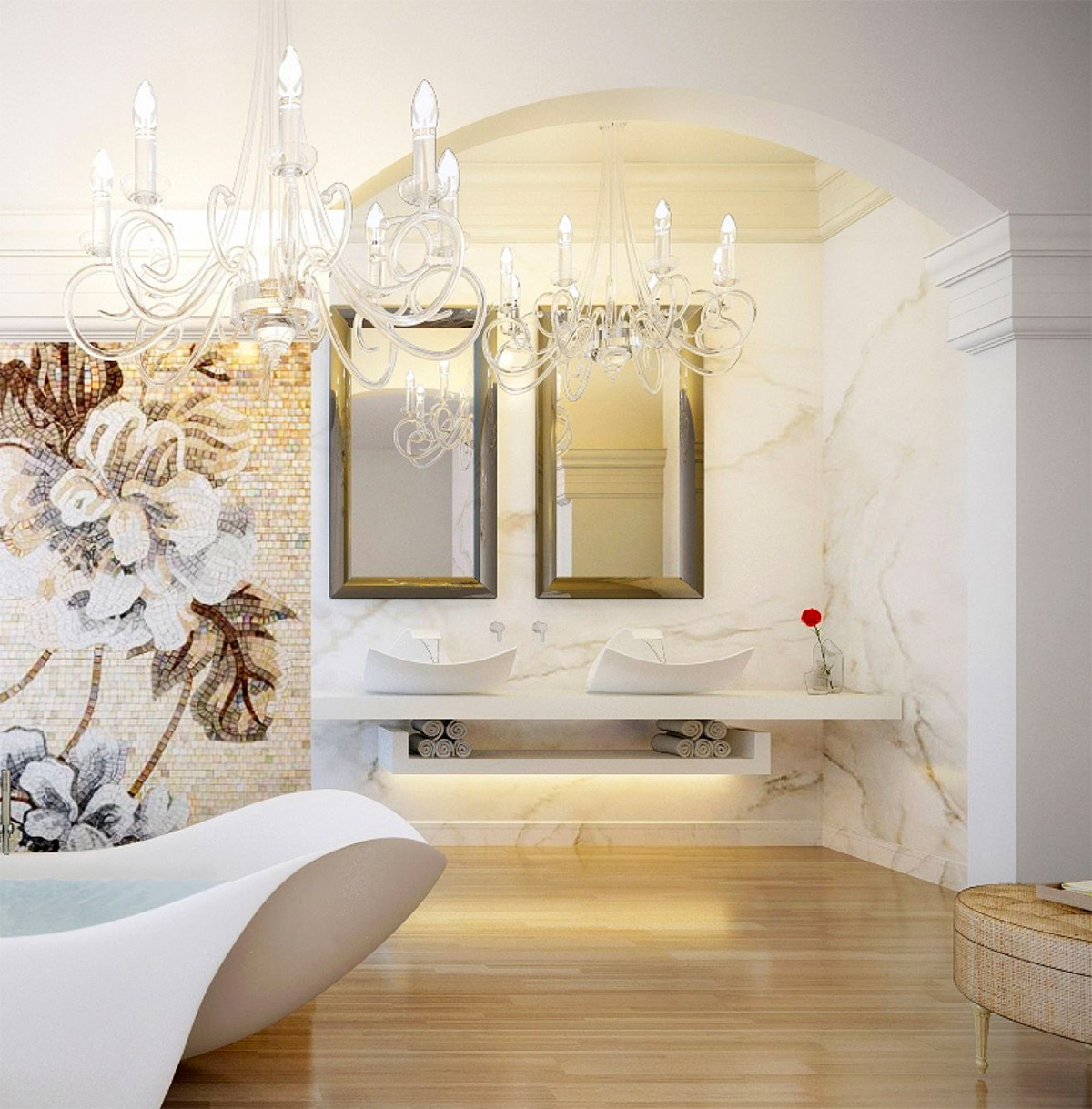 50 Luxury Bathrooms And Tips You Can Copy From Them images 35