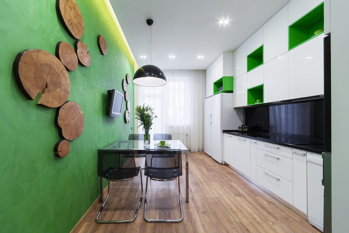 33 Gorgeous Green Kitchens And Ways To Accessorize Them images 5