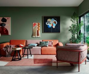 Living Room Designs · Green ...