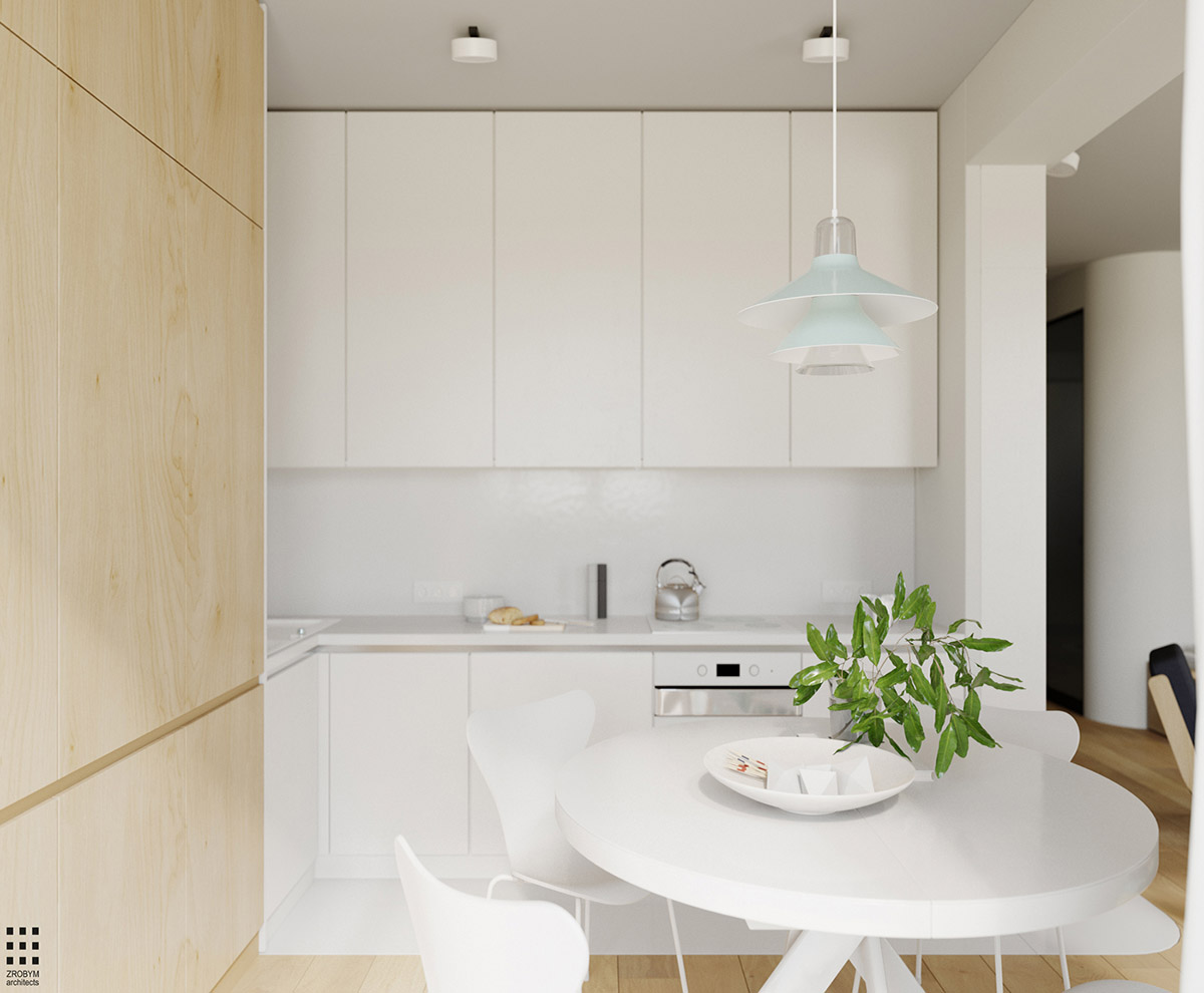 4 Bright & Cheerful Interiors That Use White & Wood To Good Effect images 14