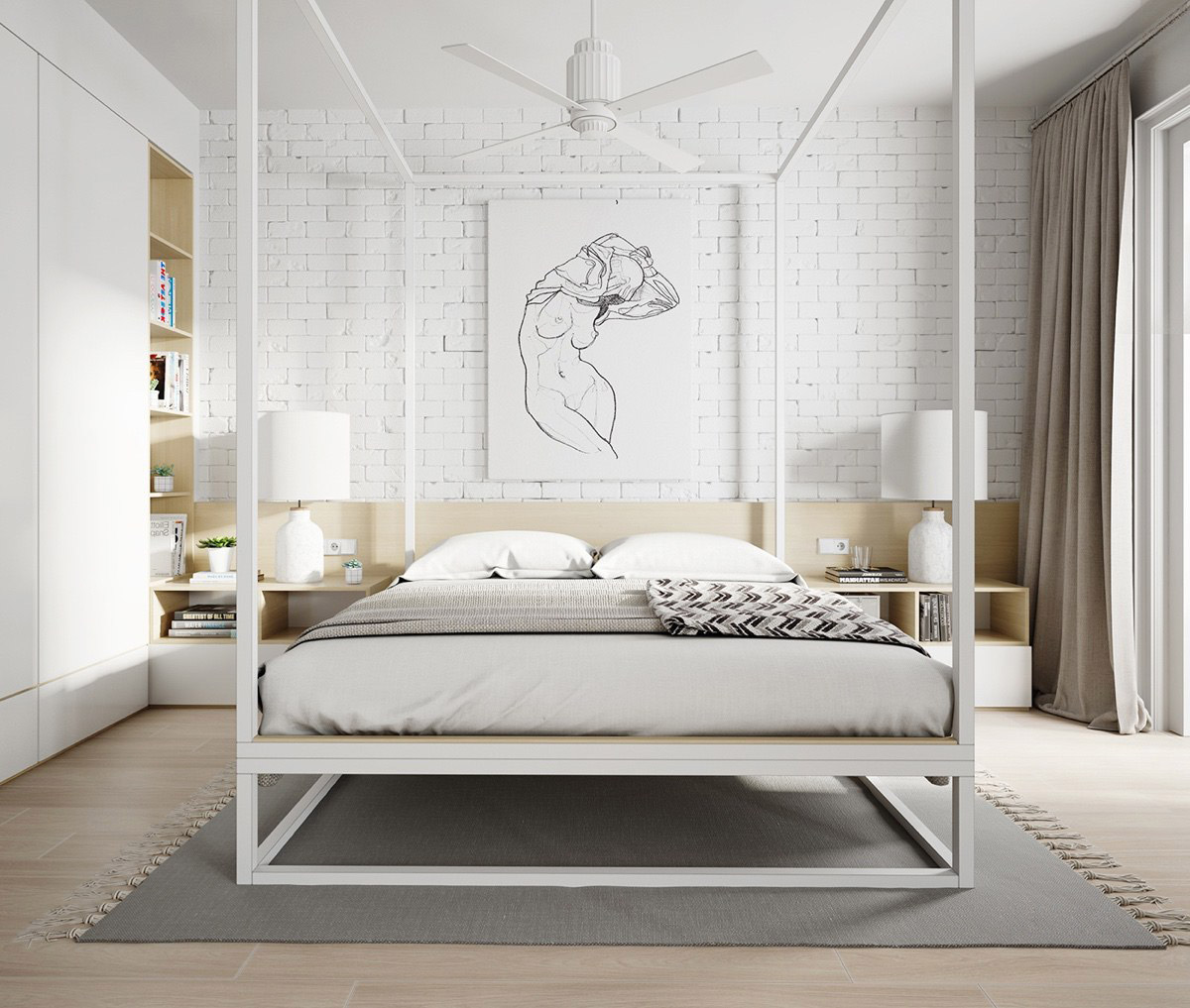 All-White Interior Design: Tips With Example Images To Help You Get It Right images 26