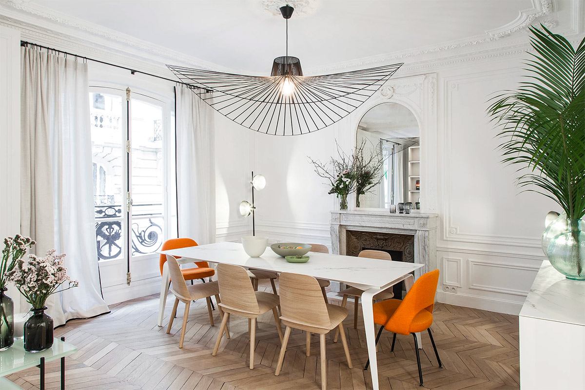33 Dazzling White Dining Rooms Plus Tips To Help You Accessorize Yours images 5