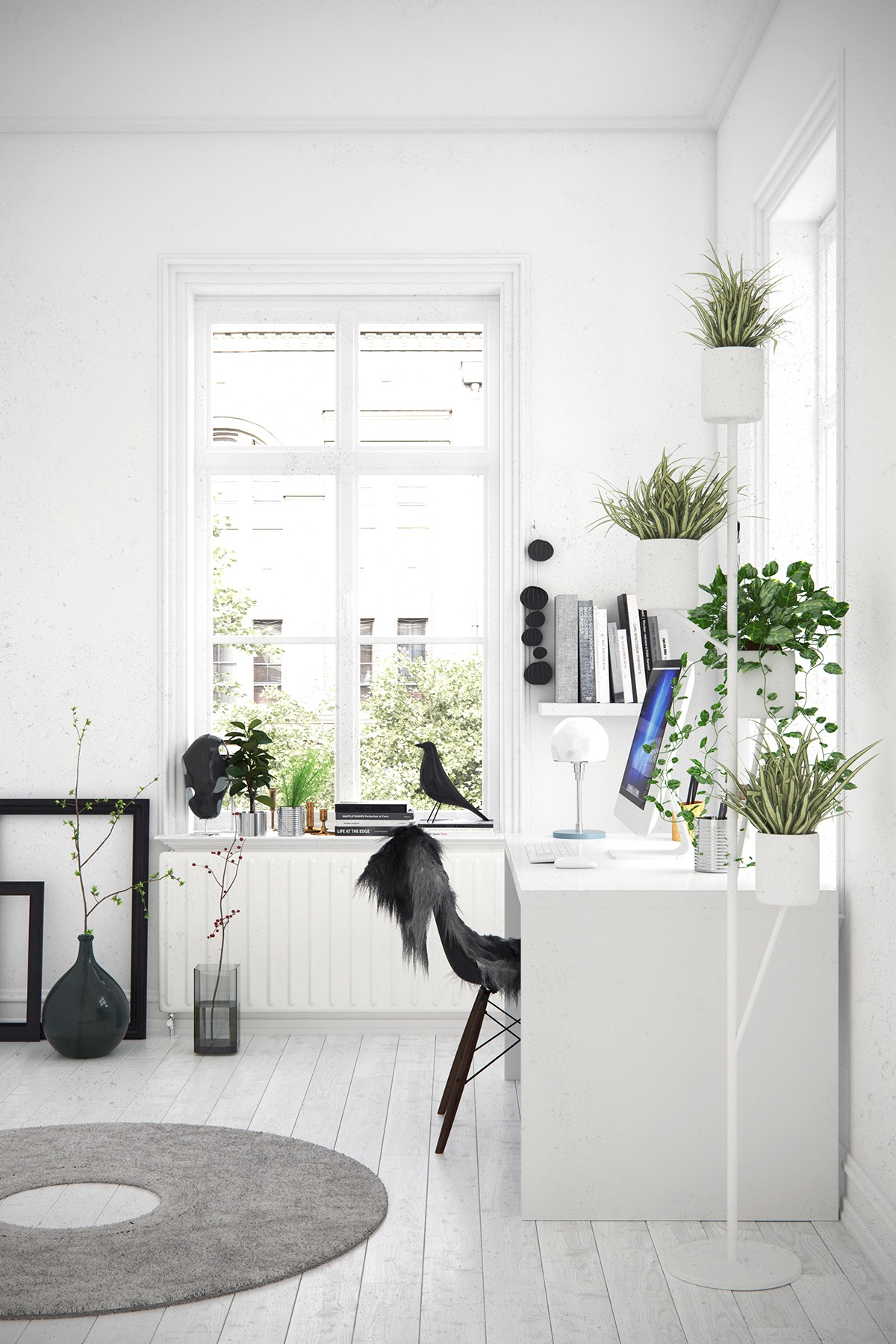 37 Minimalist Home Offices That Sport Simple But Stylish Workspaces images 27