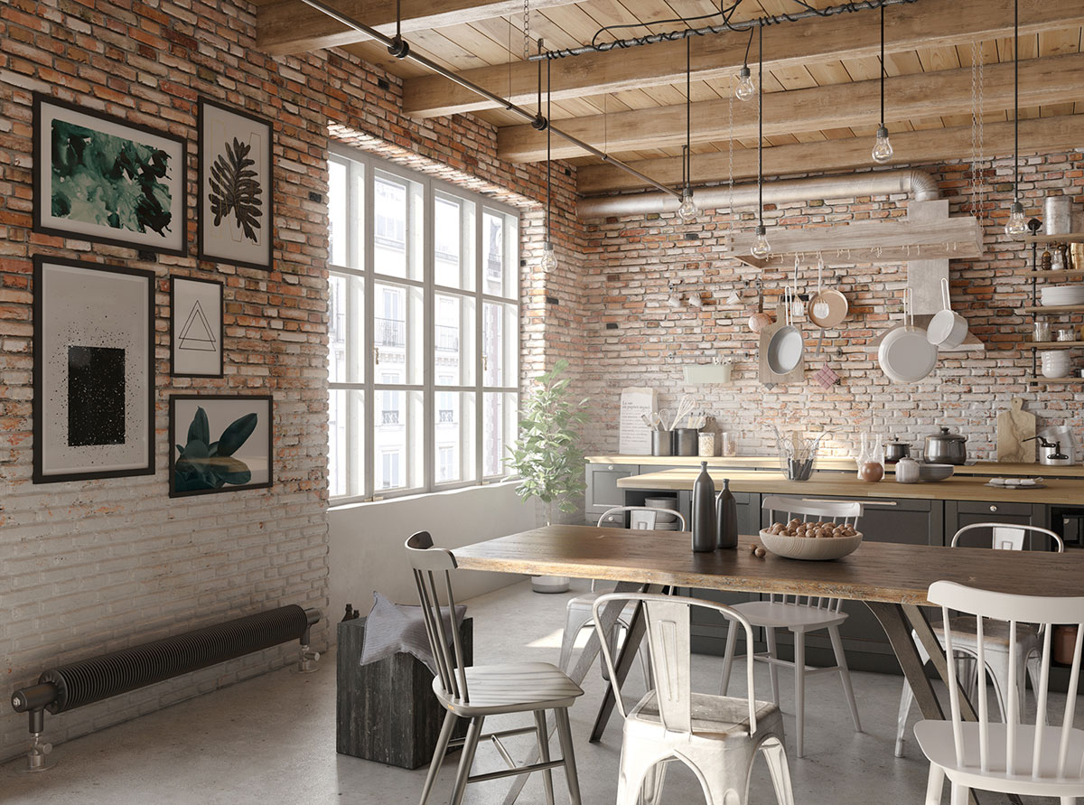 Four Types of Industrial Style Decor images 27