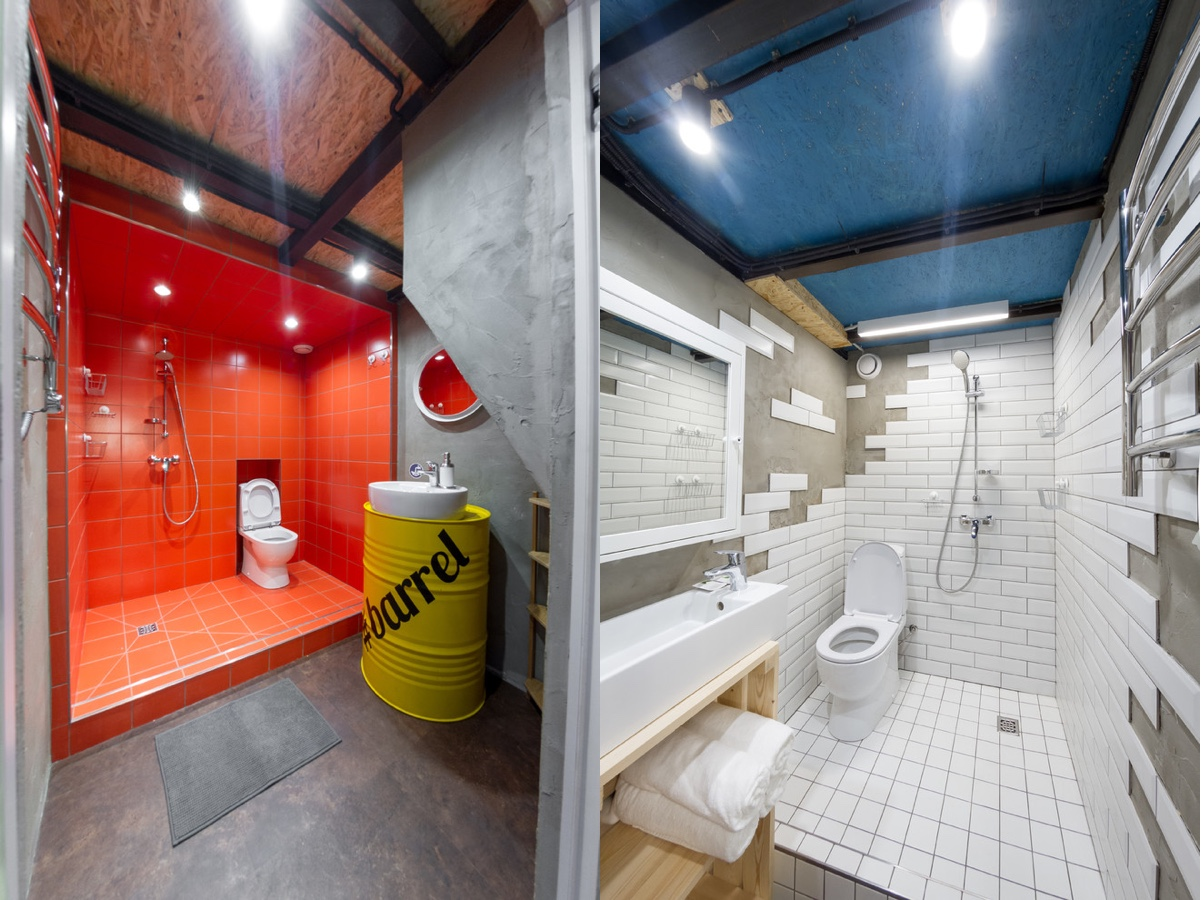 51 Industrial Style Bathrooms Plus Ideas & Accessories You Can Copy From Them images 44