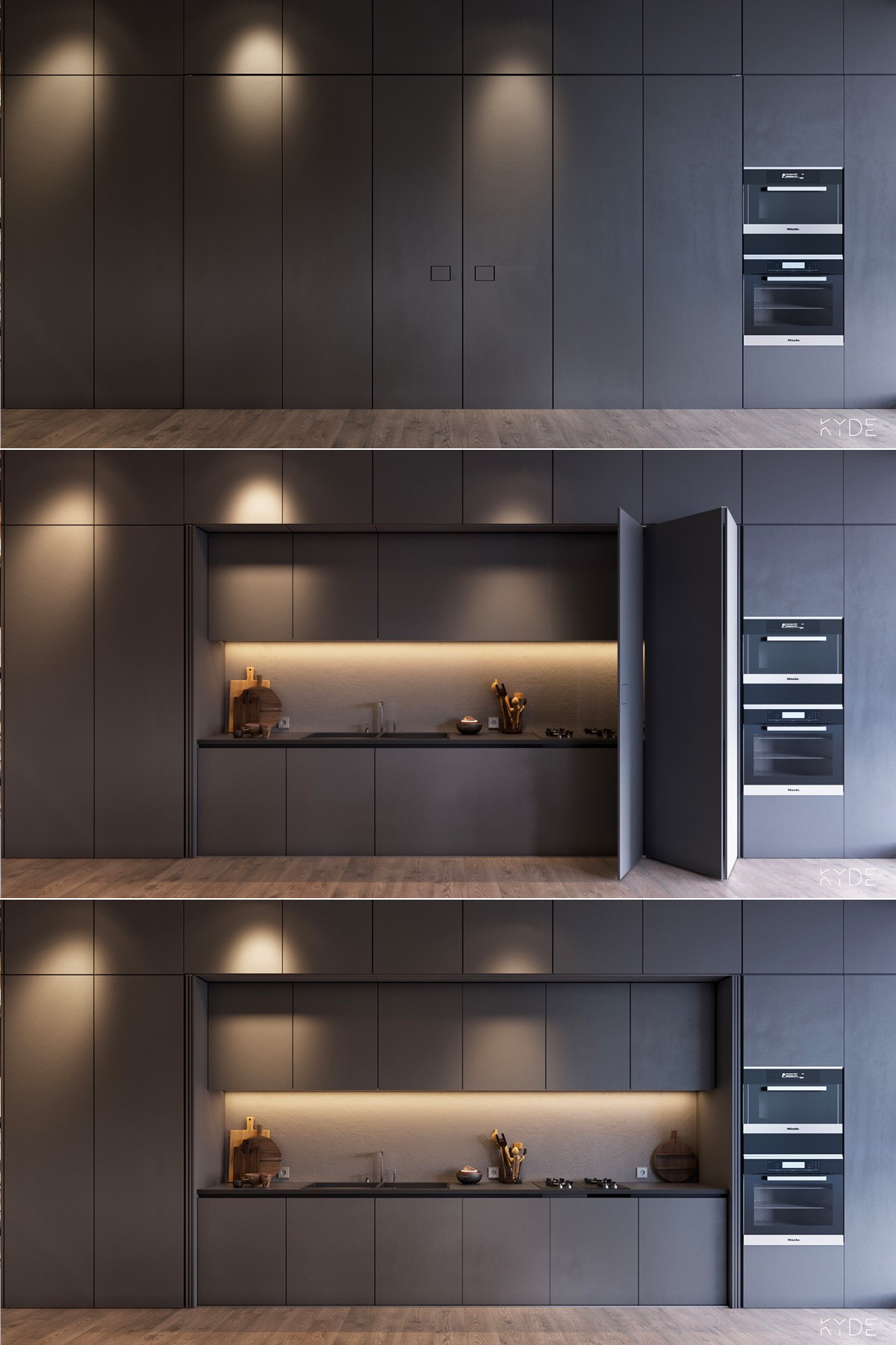 50 Wonderful One Wall Kitchens And Tips You Can Use From Them images 22