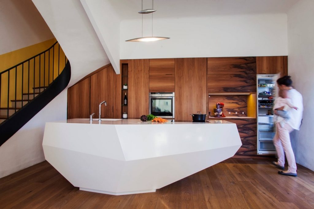 50 Stunning Modern Kitchen Island Designs