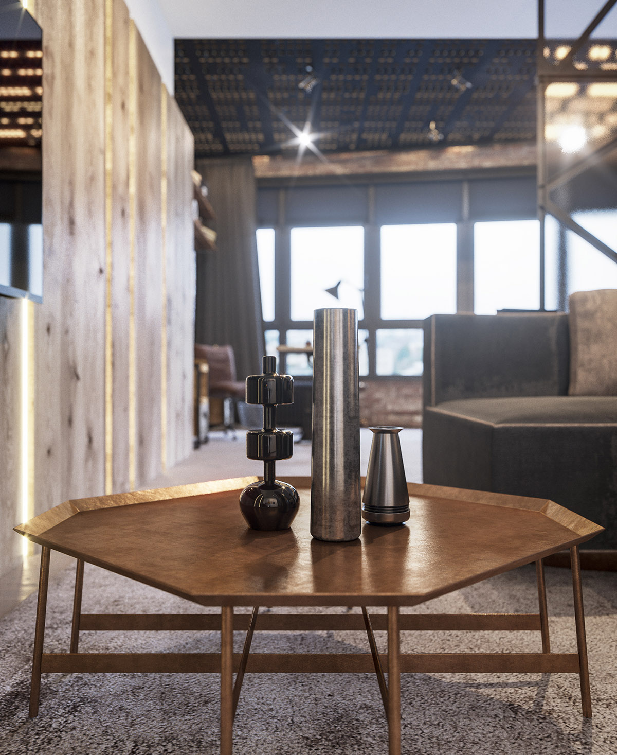 Four Types of Industrial Style Decor images 4