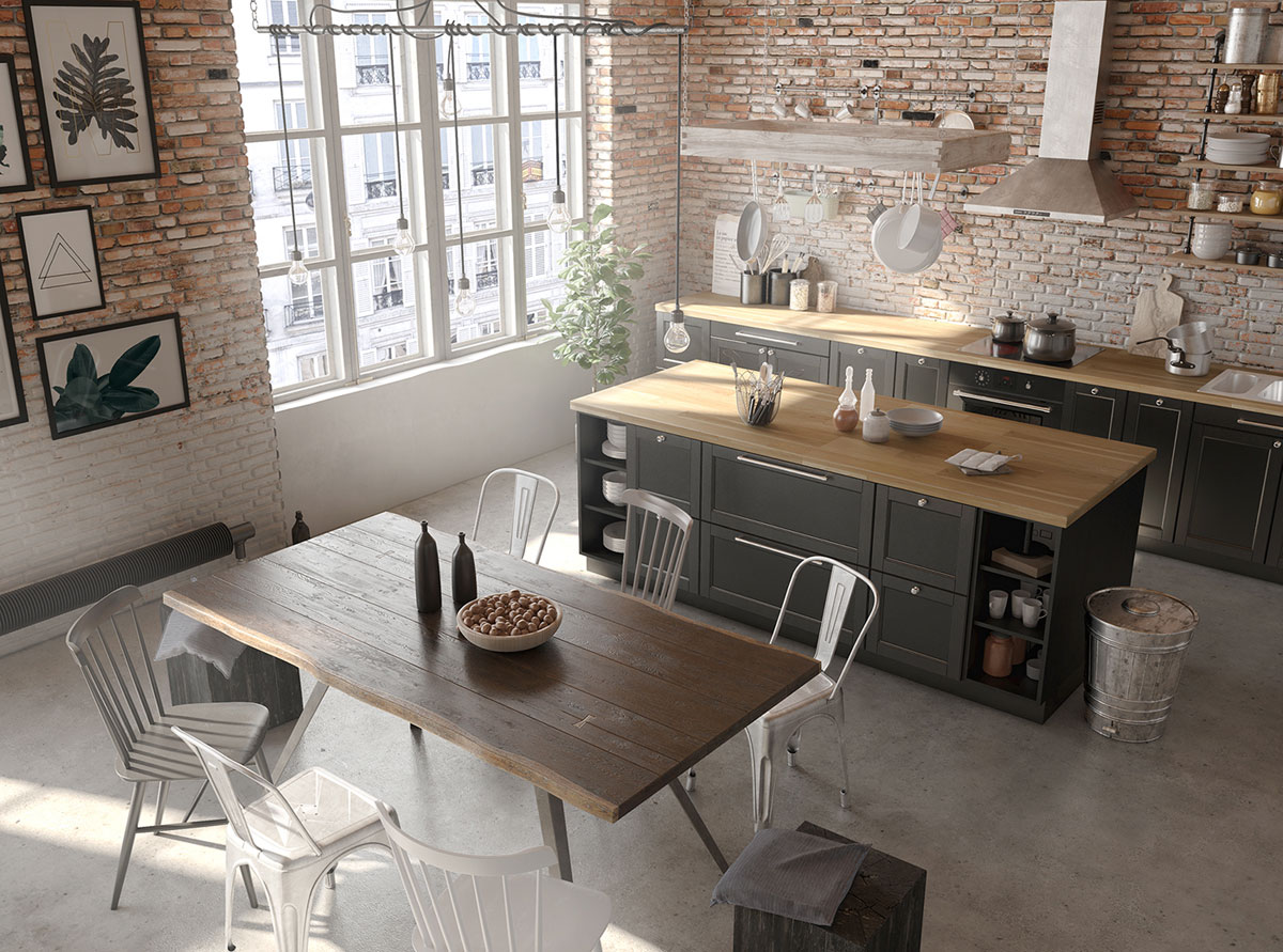 Four Types of Industrial Style Decor images 26
