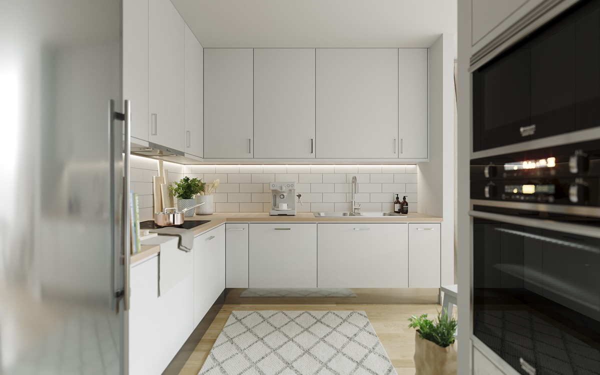 50 Lovely L-Shaped Kitchen Designs And Tips You Can Use From Them images 44