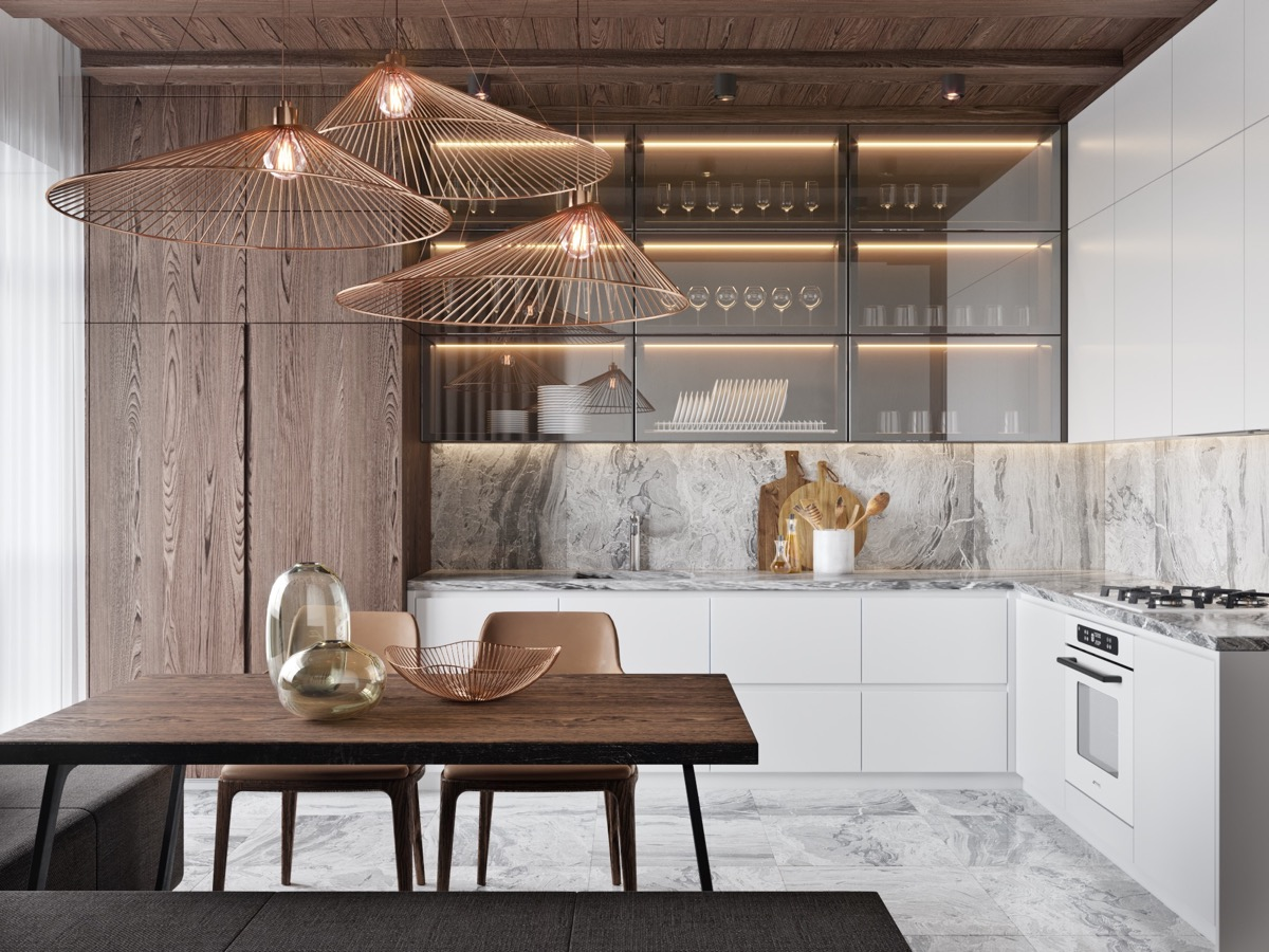 9 Lovely L Shaped Kitchen Designs & Tips You Can Use From Them