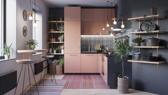 50 Lovely L-Shaped Kitchen Designs And Tips You Can Use From Them