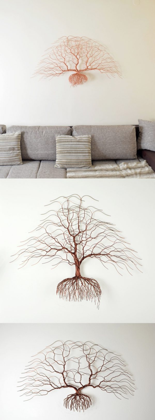 Wire And Glass Wall Art Home Decor ~ Marvelous metal wall art décor pieces