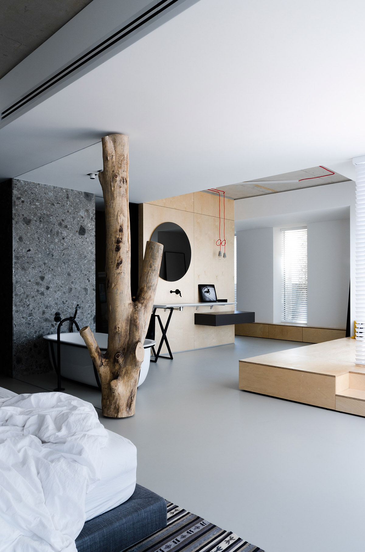Light and Laid Back Industrial Style Interior images 14
