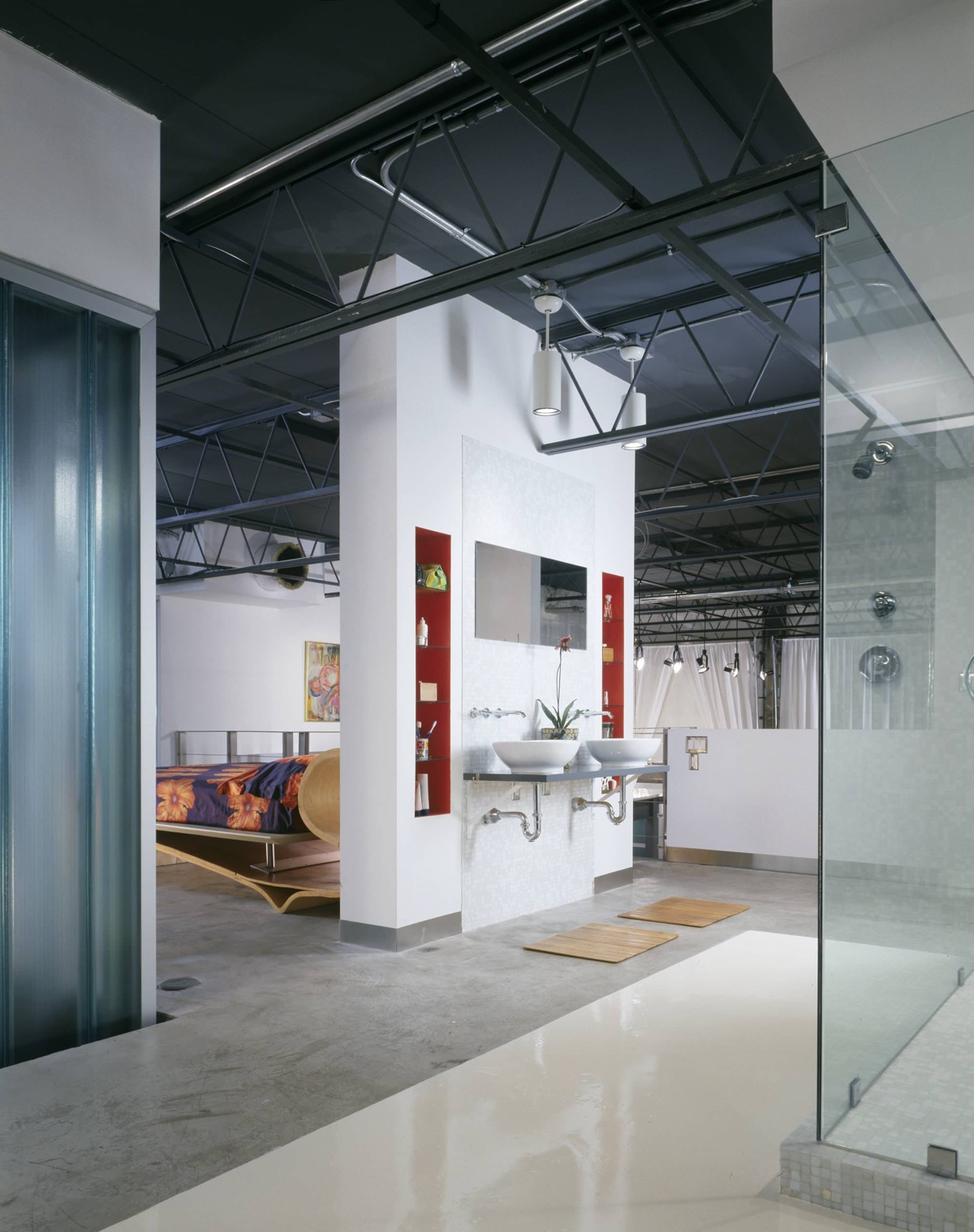 51 Industrial Style Bathrooms Plus Ideas & Accessories You Can Copy From Them images 43