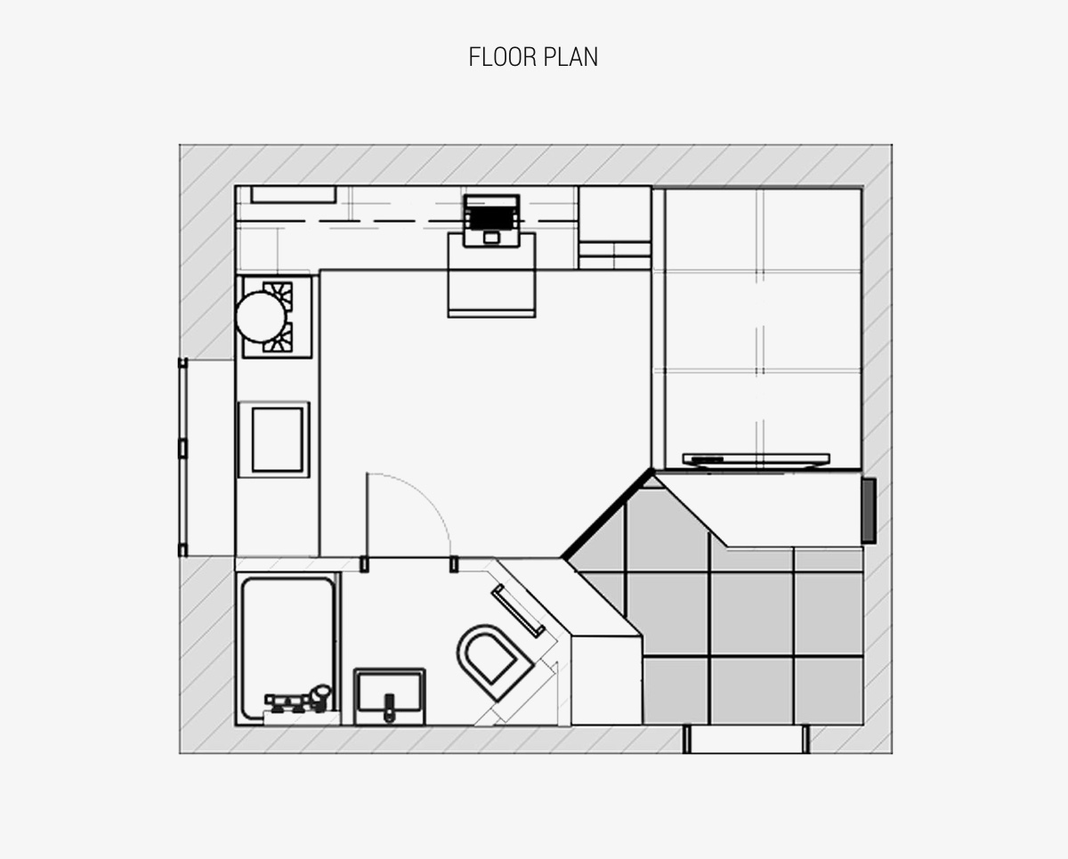Designing A Living Space Under 18 Square Metres: Challenge Accepted images 17