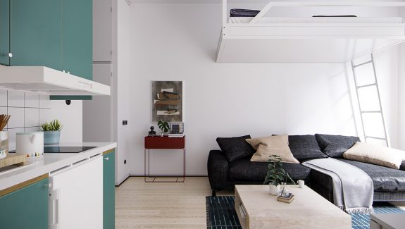 4 Small Space Apartments That Use Clever Ways To Maximize Space