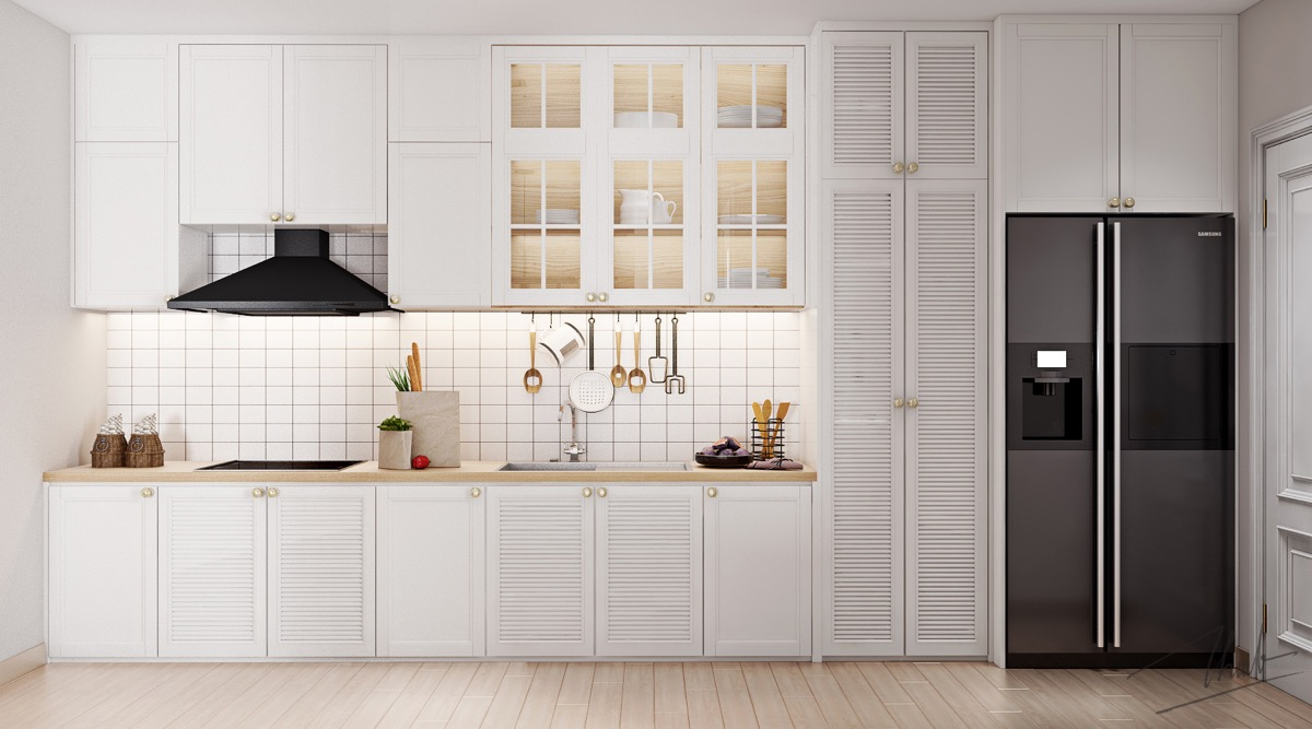 50 Wonderful One Wall Kitchens And Tips You Can Use From Them images 31