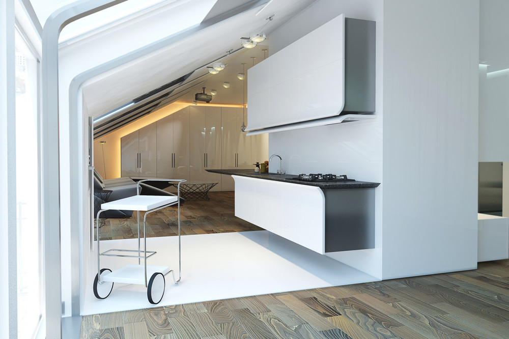 50 Wonderful One Wall Kitchens And Tips You Can Use From Them images 25