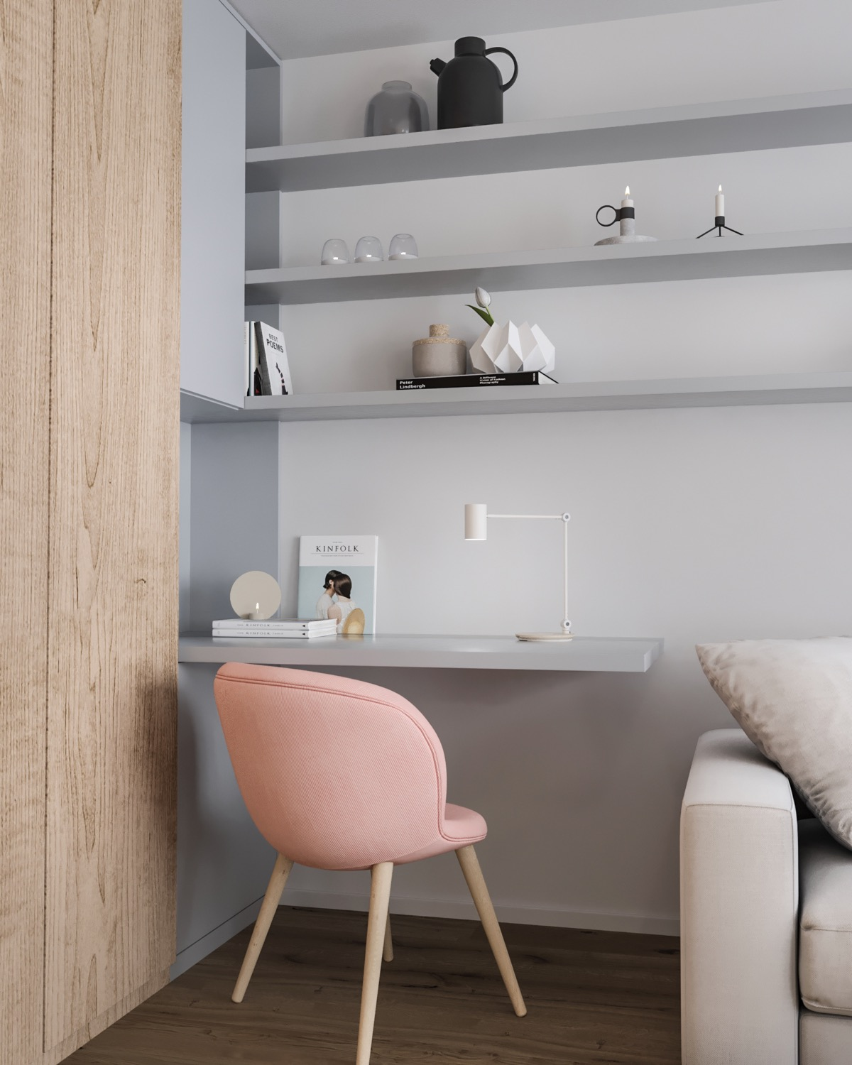 37 Minimalist Home Offices That Sport Simple But Stylish Workspaces images 26