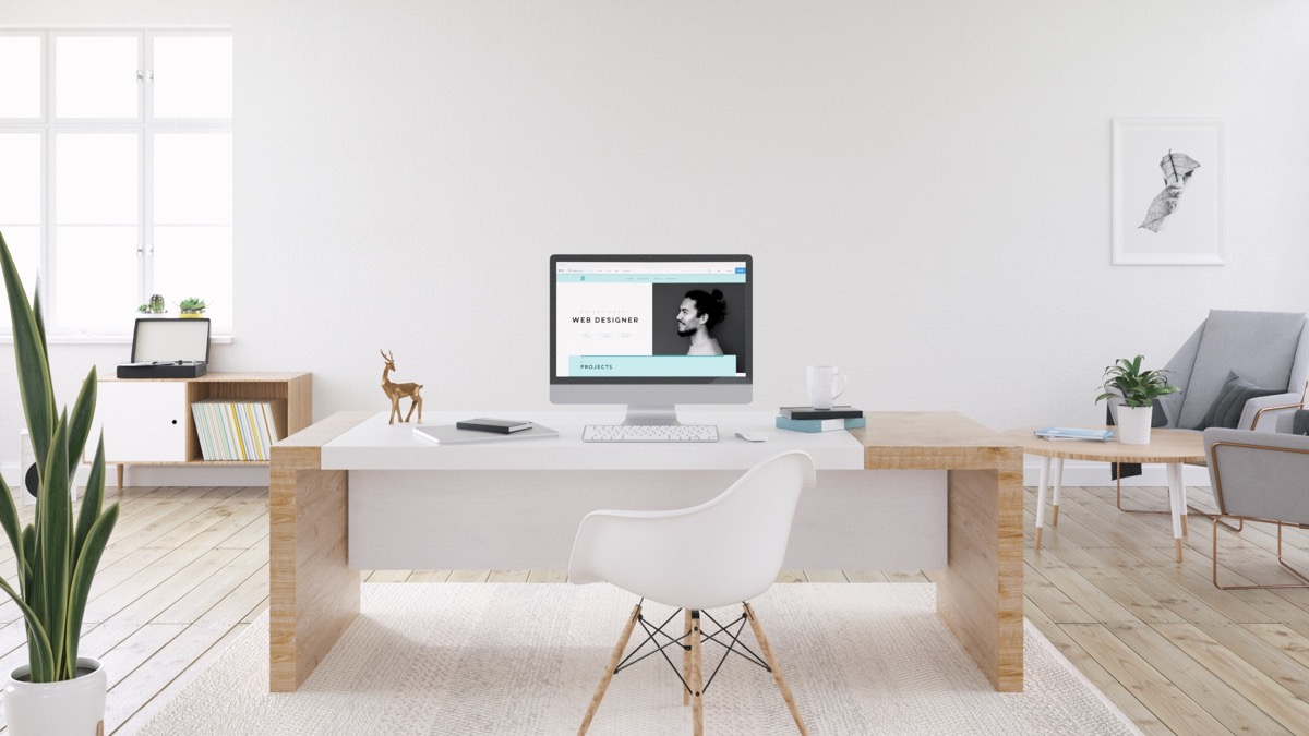 11 |; Visualizer: Yambo Studio. Place A Modern Home Office ...
