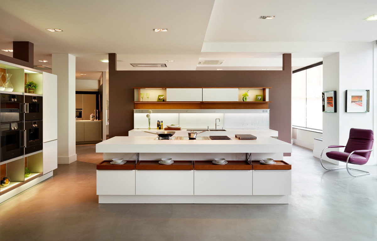 50 Stunning Modern Kitchen Island Designs images 22