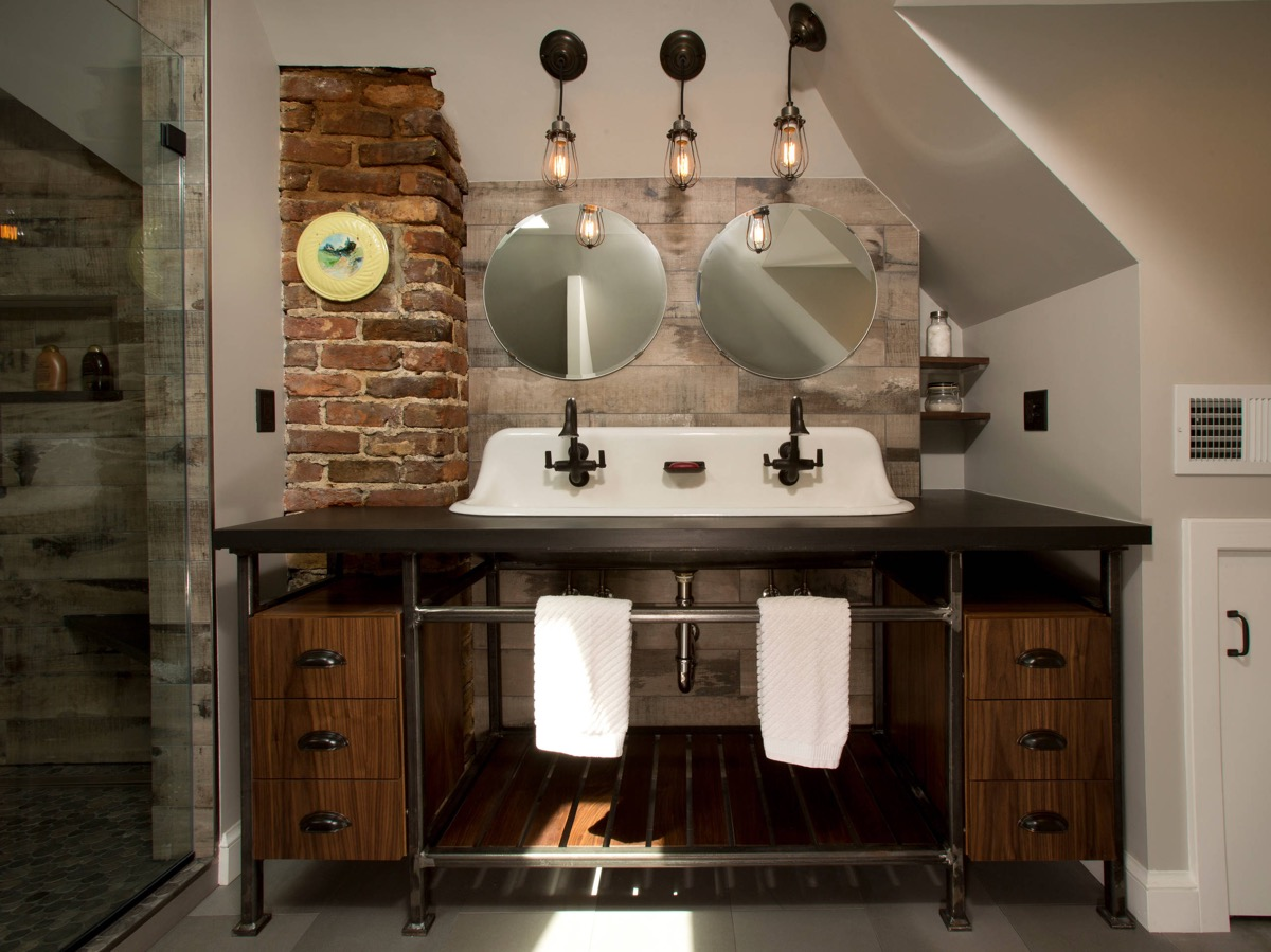 51 Industrial Style Bathrooms Plus Ideas & Accessories You Can Copy From Them images 39