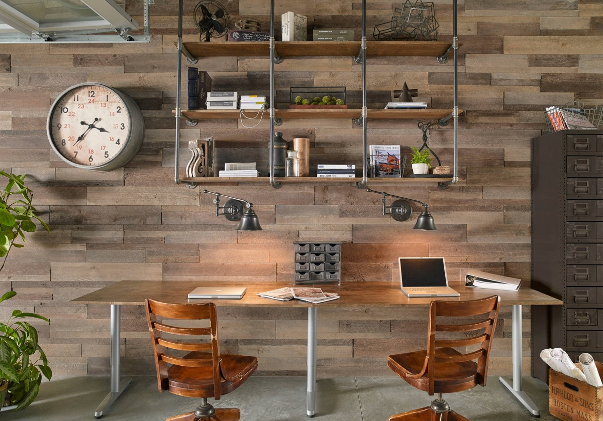 33 Inspiring Industrial Style Home Offices That Sport Beautiful Workspaces images 27