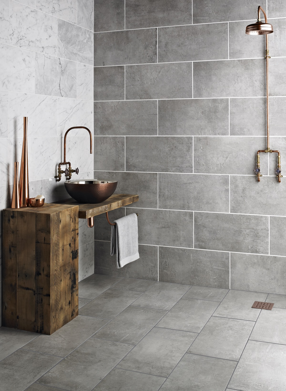 51 Industrial Style Bathrooms Plus Ideas & Accessories You Can Copy From Them images 13