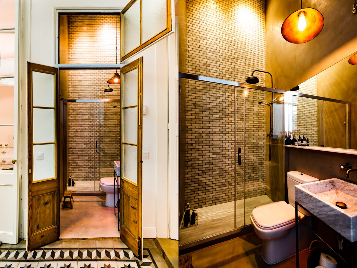 51 Industrial Style Bathrooms Plus Ideas & Accessories You Can Copy From Them images 2
