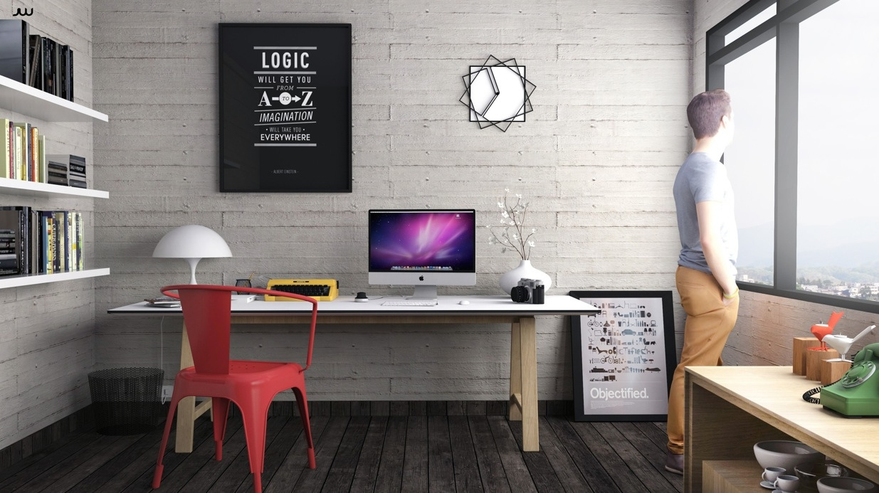 33 Inspiring Industrial Style Home Offices That Sport Beautiful Workspaces images 9