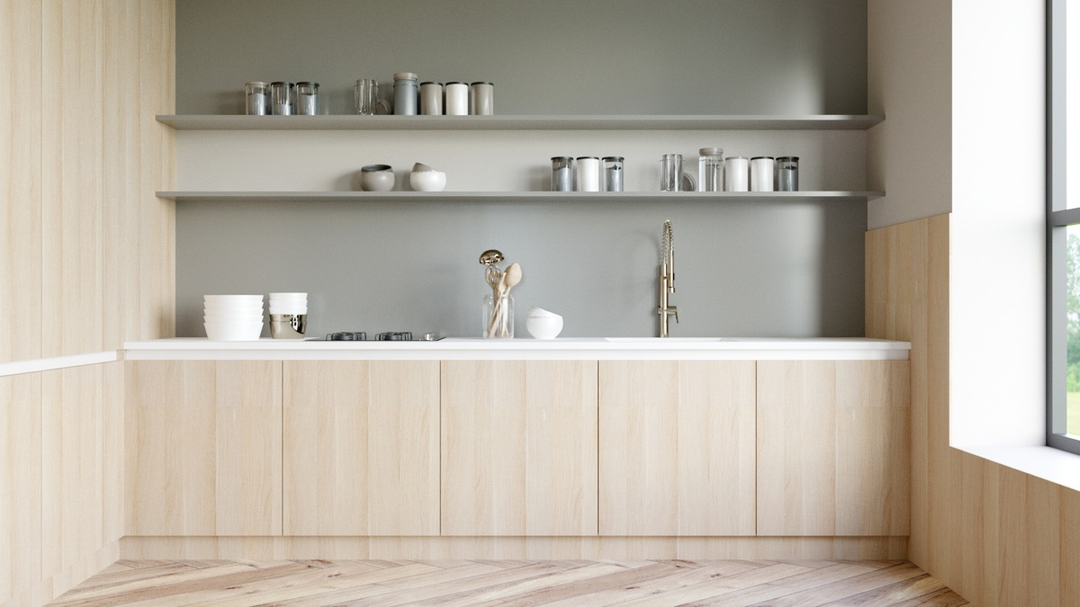 50 Wonderful One Wall Kitchens And Tips You Can Use From Them images 4