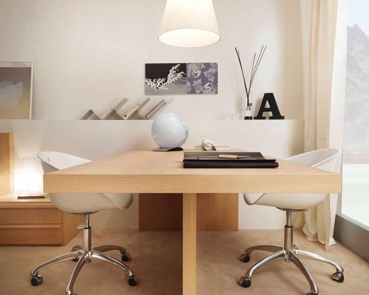 37 Minimalist Home Offices That Sport Simple But Stylish Workspaces images 20