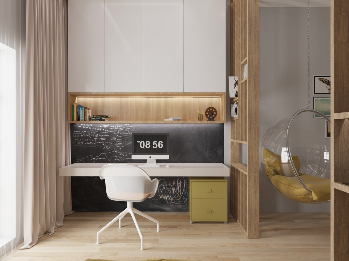37 Minimalist Home Offices That Sport Simple But Stylish Workspaces images 8