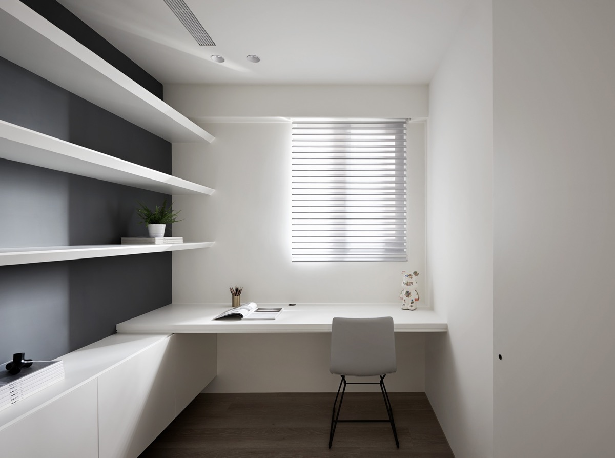 37 Minimalist Home Offices That Sport Simple But Stylish Workspaces images 18