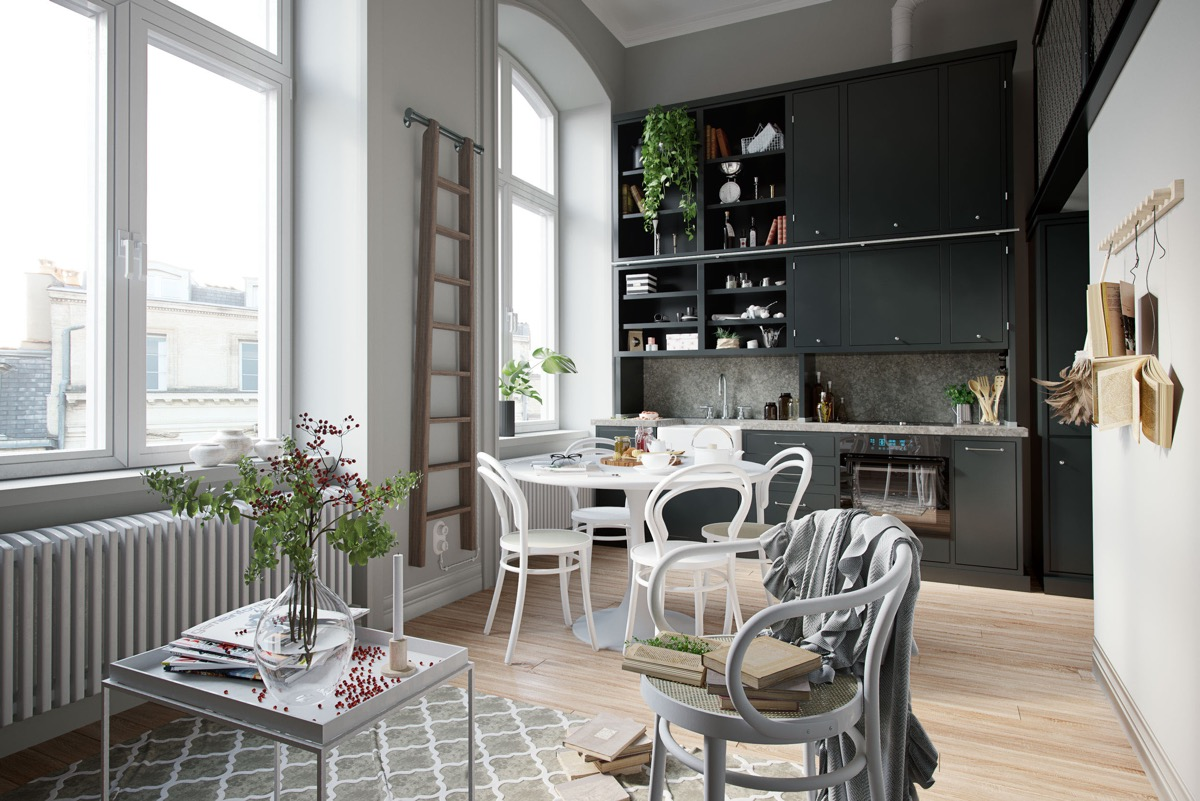 50 Wonderful One Wall Kitchens And Tips You Can Use From Them images 32