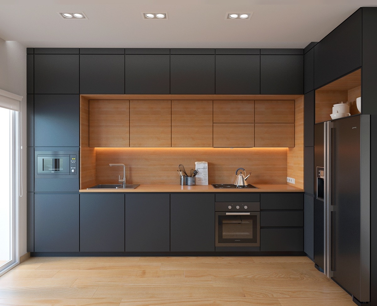 50 Wonderful One Wall Kitchens And Tips You Can Use From Them images 21