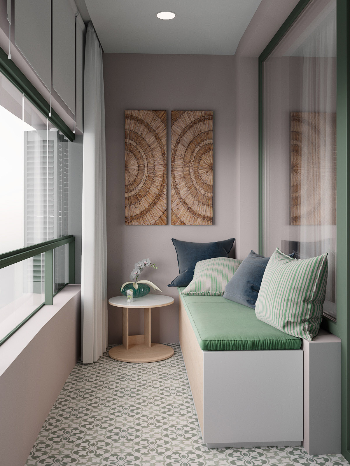 Scandinavian Style Interior Infused With Garden Greenery images 8